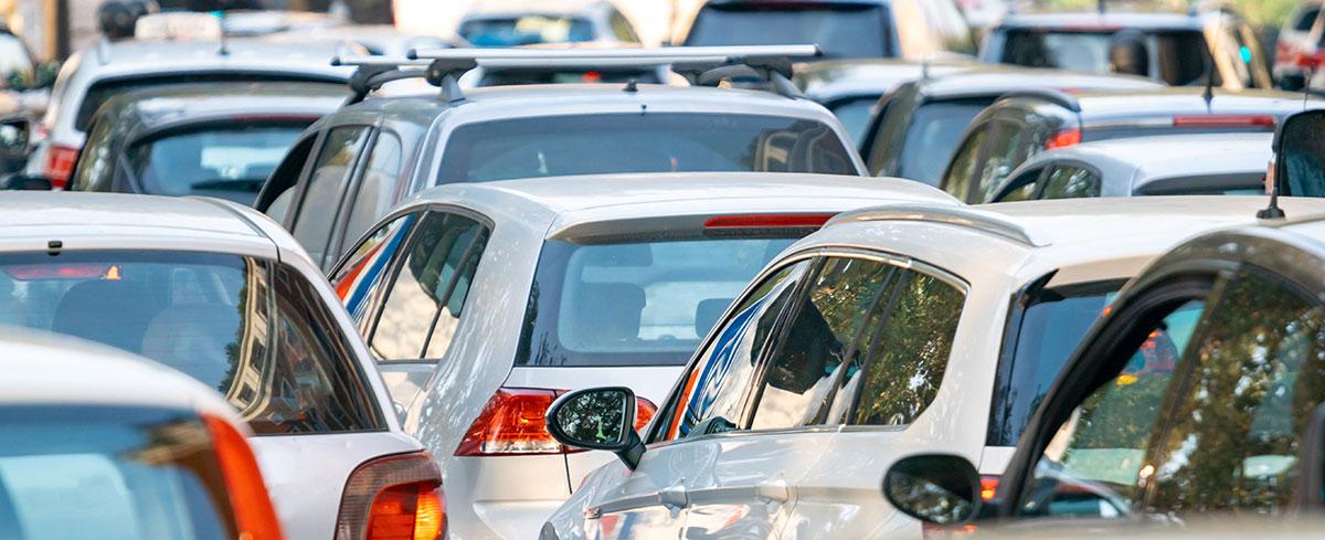 Autos im Berufsverkehr